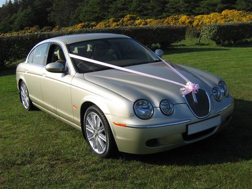 Exceptional ... Modern Jaguar S Type In Metallic Gold Photo